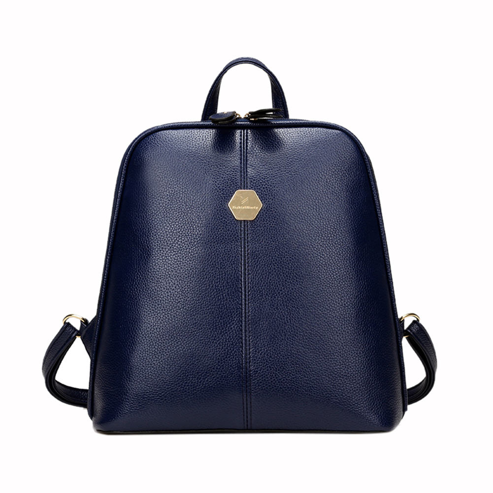New Fashion Women PU Leather Backpack Mini Backpack Rucksack Girls School  Bag for Teenager Girls Mochila Shoulder Bagpack Female-in Backpacks from  Luggage ... 4afb9c5775