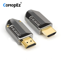 HDMI высокоскоростной кабель Позолоченный разъем HDMI 2,0 соединитель DIY HD Кабельный соединитель компьютерный ТВ Штекер