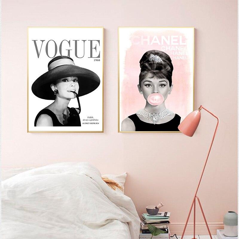 Art Print Poster Canvas VOGUE