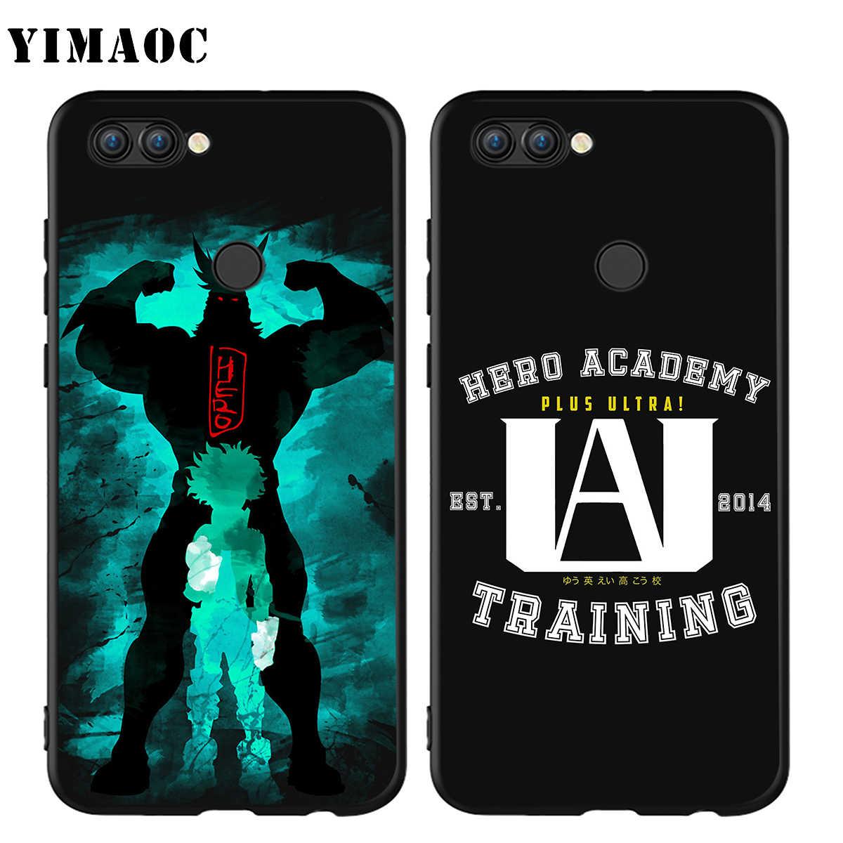 YIMAOC Il Mio hero Accademico di Caso per Huawei Mate 10 P8 P9 P10 P20 P30 P Smart Lite Pro Mini 2017