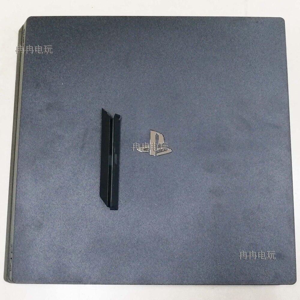 Boîtier complet pour Console PS4 pro couleur noire pour Console PS4 pro boîtier de boîtier de Console maison coque ont Logo