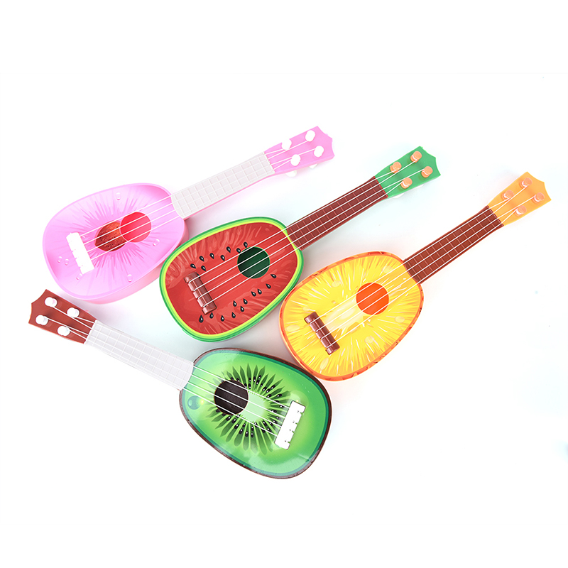 4 String Guitar Fruit Style Ukulele Musical Instrument For Children Kids Gift Toy