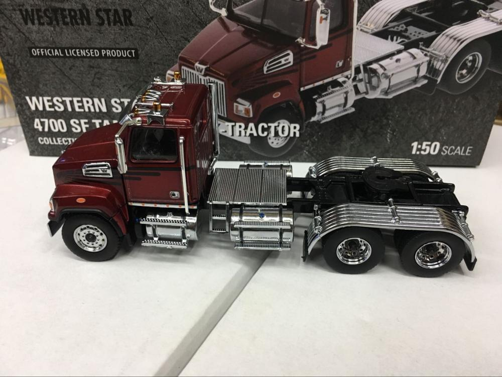 Western Star 4700 SF Tandem Truck-Tractor 1/50 Scale Metal By DieCast Masters DM71037Western Star 4700 SF Tandem Truck-Tractor 1/50 Scale Metal By DieCast Masters DM71037