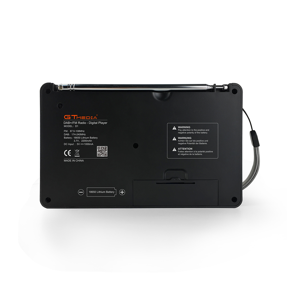 GTMEDIA Bluetooth D1 DAB + FM радио 1,8 ''цифровой ЖК дисплей TF карты MP3 музыкальных плееров - 2
