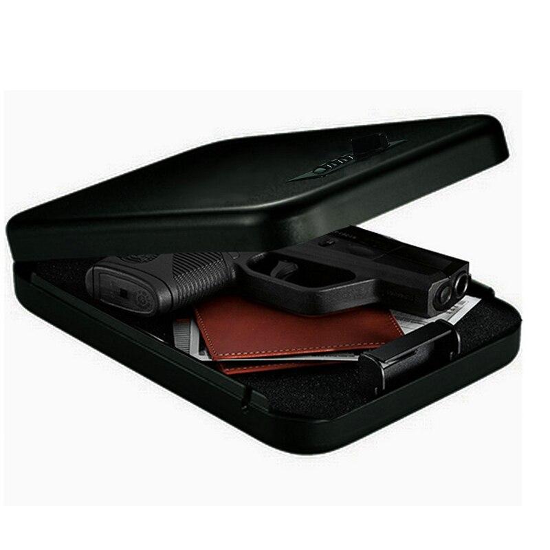 Password Safes Portable Car Safebox Gun Safes Valuables Money Jewelry Storage Box Security Strongbox 1mm Cold