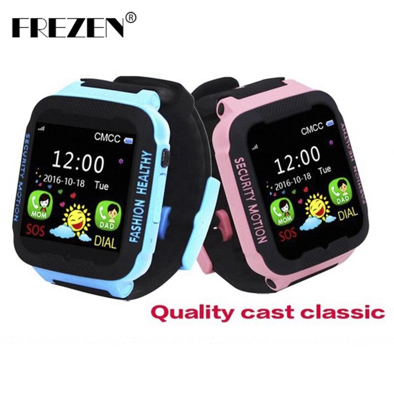FREZEN Smart Watches for Kids Children LBS Watch for Apple Android Phone Smart Baby Watch Smartwatch Children Smart Electronics