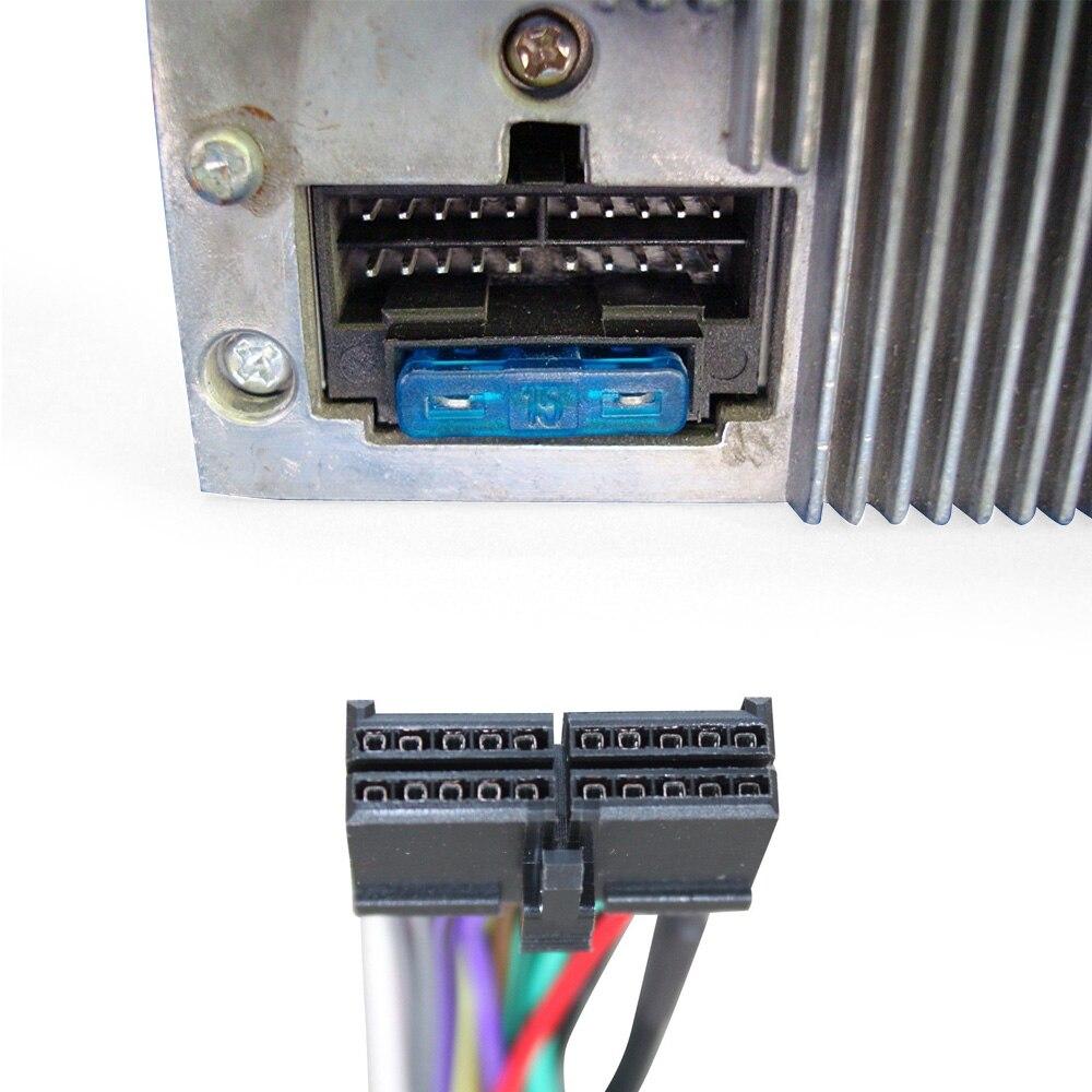 AtoCoto Kabelbaum Adapter für Jensen CD3610 MP5610 CD450K Auto CD ...