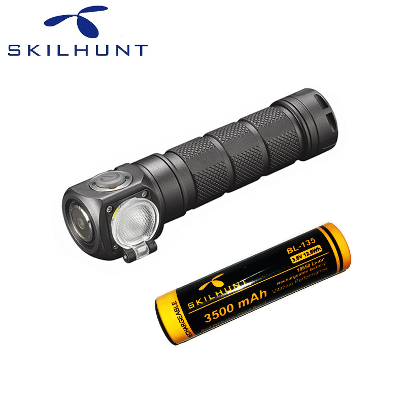 2018 New Skilhunt H03 H03R H03F RC 1200 lumens cold or neutral white USB magnetic charging