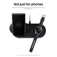 New 2 in 1 Fast Charging Wireless Charger Pad For Samsung Galaxy S10/S10+/Watch S2/3 Quick acting Charging 19Feb27