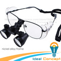 3.5x Nickel Alloy Frame Dental Loupes Galilean Style Surgical Medical Loupes Binocular