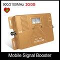 ¡ Venta caliente! sólo repetidor de doble banda 2G 3G 900/2100 mhz teléfono celular amplificador de señal amplificador de calidad superior con pantalla LCD