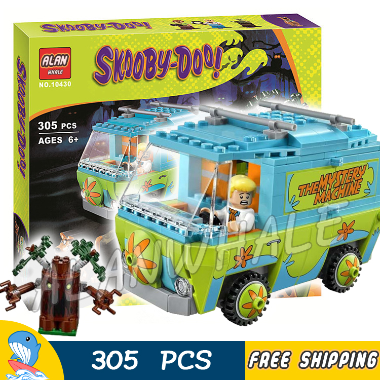 305pcs Bela 10430 The Mystery Machine Scooby Doo Fred