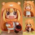 Lolita Sankaku cabeça himouto! Umaru - chan Umaru figura Doma marmota , 524 Q Nendoroid 10 CM figuras de ação modelo Pvc Rinquedo