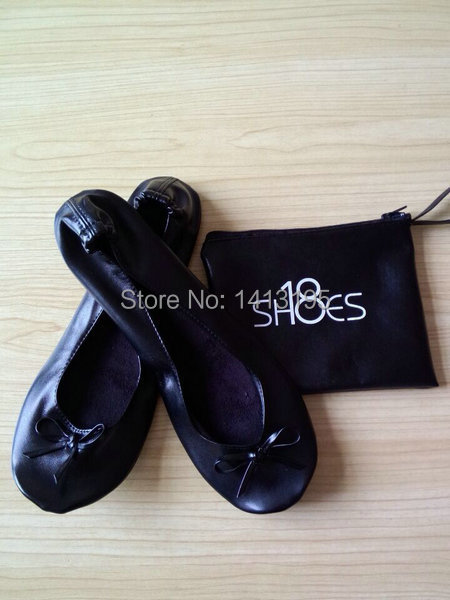 5191e22922de New wedding fashion Wholesale cheap foldable shoes rollable ballerina flat  with matching