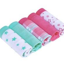 Women's Cotton 5PCS Briefs Cueca Plus Size Underwear Knickers Intimates bragas Sexy Calcinha Lingerie Panties For Women Ladies