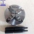 K02-63 K02 63 мм 4 Челюсти токарный мини-патрон ручной самоцентрирующийся токарный патрон M14 для станка с ЧПУ с бусинами Будды