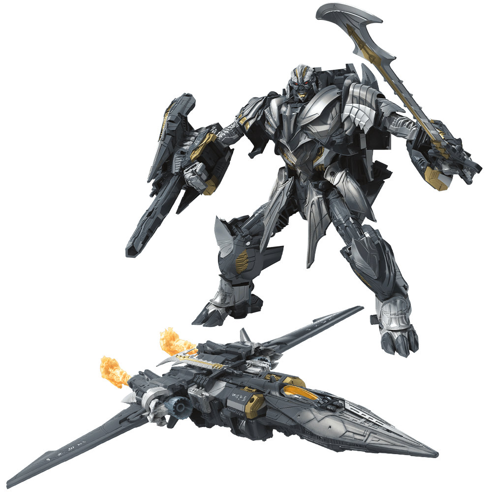 Hasbro Transformers Toy Movie 5 Leader Megatron C1341 The Last Knight Megatron transformers маска megatron