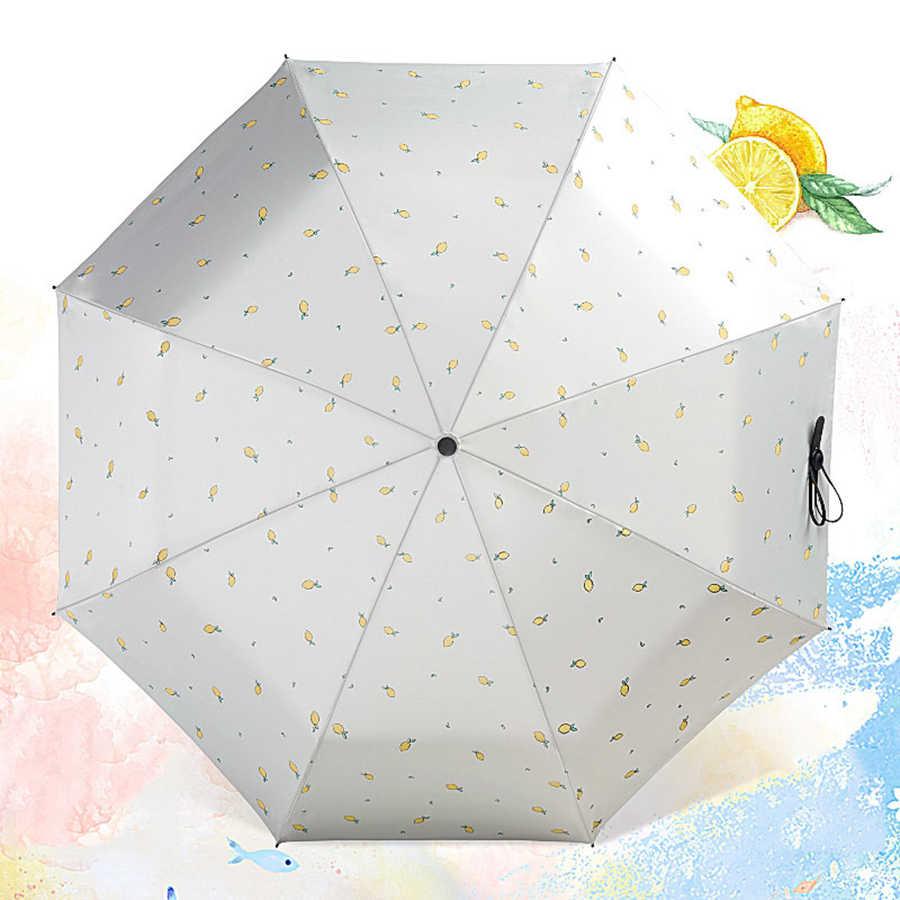 Ветрозащитный легкий зонтик для путешествий с мультяшным зонтиком, УФ-зонты, дождевик, зонтик для детей Umberlla Payung, Солнцезащитный Зонт 50KO088
