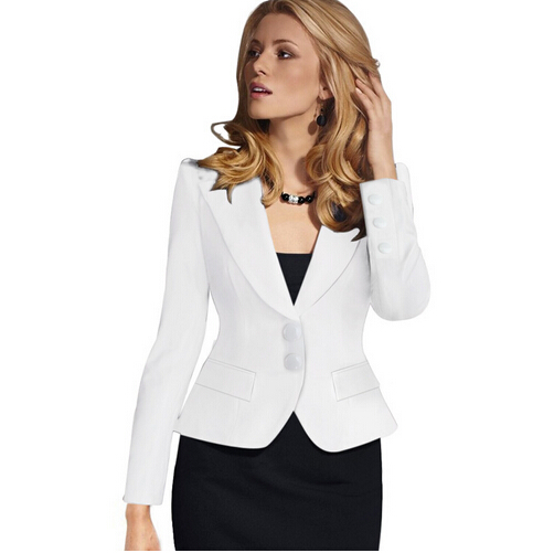 Hot New 2017 Female Jacket Suit Jacket Short Dual Suit Jacket Large