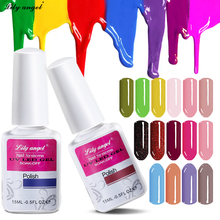 Lily angel Charming Sweet 15ml 120 Colors Manicure Soak-off UV LED Gel Nail Polish Semi Permanent Varnishes NO.49-72