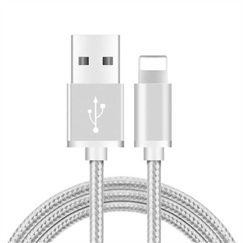 Cable de datos USB de 3 m para iPhone X XS X Max XR 5 5S 6 S 6 7 8 Plus SE cable cargador USB de teléfono de carga rápida para iPad 4 mini 2 3 4 Air 2