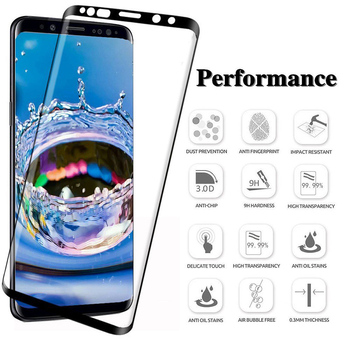20D Full Curved Tempered Glass For Samsung Galaxy S8 S9 Plus Note 8 9 Screen Protector For Samsung A8 A6 2018 S7 Protective Film 1