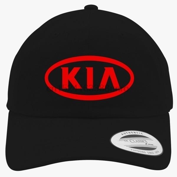 Kia Logo Design Unisex Nice Baseball Cap High Quality Cool Sports ... 637fad07730