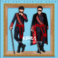 ГОРЯЧАЯ! 2016 Новый прилив мужчин устанавливает черный замша пальто темно-синий в тонкую полоску костюм мужчины красная лента униформы певица сценические костюмы одежда