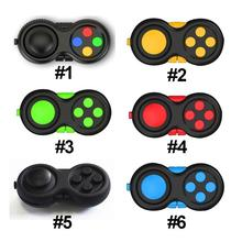 Novelty Fidget Pad Second Generation Fidget Cube Fidget Hand Shank Adults Kids Novelty Anxiety Decompression Toys 6 Color gifts
