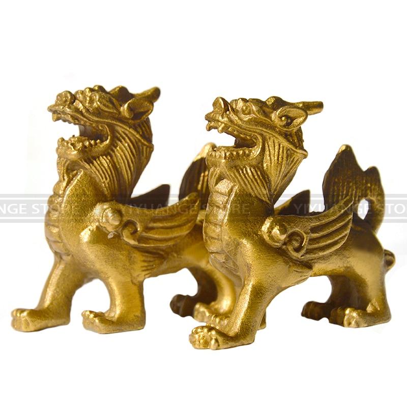 Fengshui չինական թալիսման Fly Dragon chi-lin - Տնային դեկոր