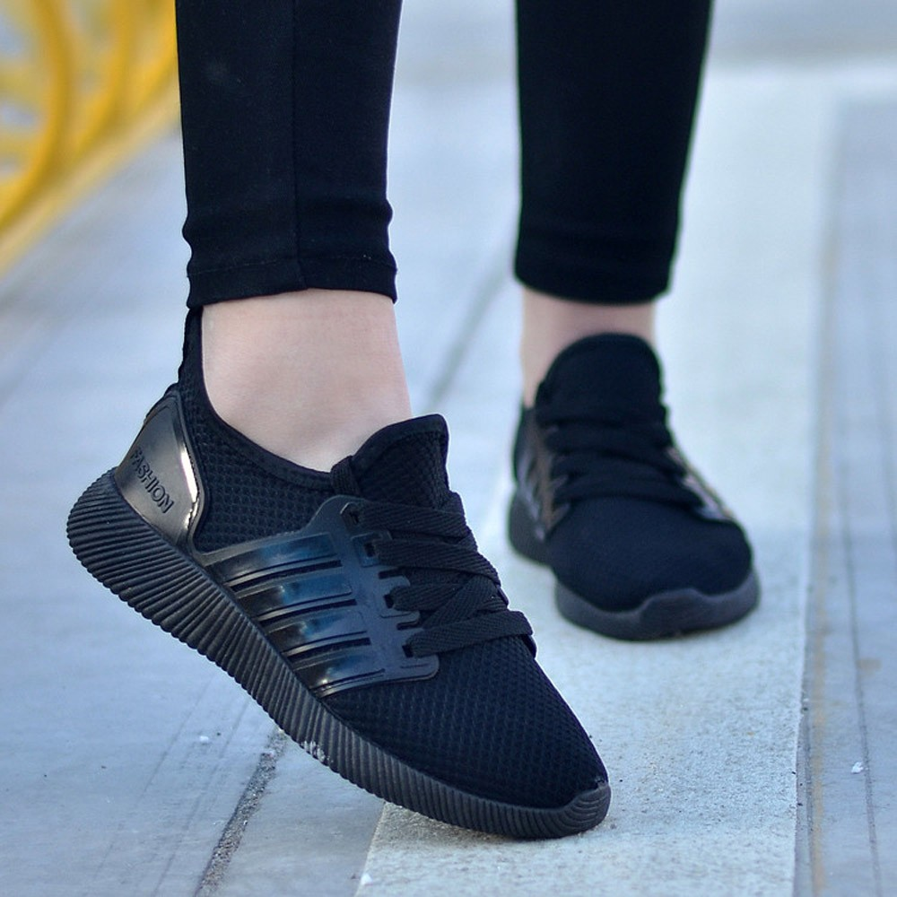 Women's Shoes Breathable Casual Shoes Student Sports Shoes ...