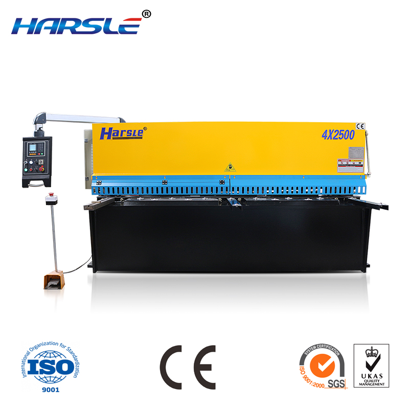 numerical control hydraulic brake type plate shearing machine factory outlet