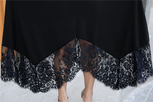Image 5 - 3XL 9XL Grote Size Vrouwen Kanten Jurk Zomer Lente Casual Plus Size 2020 Jurk 7XL 8XL Office Lady Elegant Avond Party vestidos
