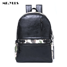 MR.YLLS Brand Men Camouflage Backpack 15 Inch Laptop Bags Travel Lovers Backpacks School Fashion Women Bag Male Leisure mochila