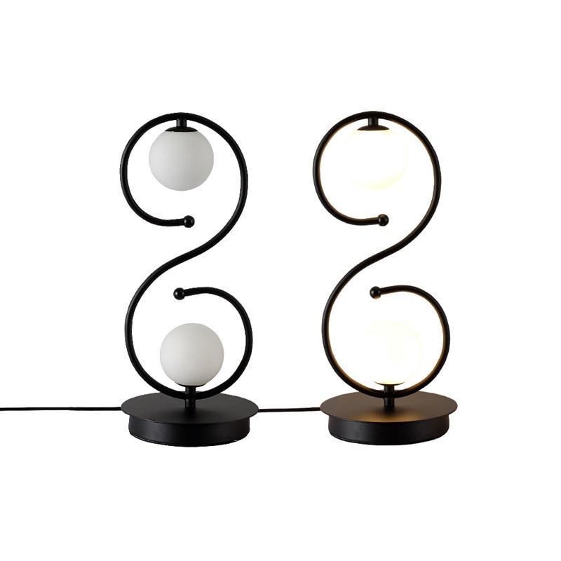 l86 simple nordic casa lampada de mesa 04