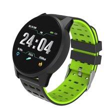 Спортивные Смарт-часы для мужчин и женщин, кровяное давление, Водонепроницаемый Фитнес-трекер, пульсометр, умные часы для Android ios