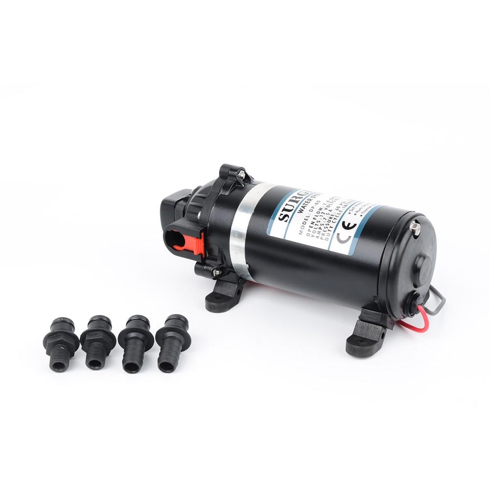 AC 110v/220v 160psi/11bar lift 9.5m Water Pump High Pressure Diaphragm Pump Submersible pumps For Chemical DP-160s