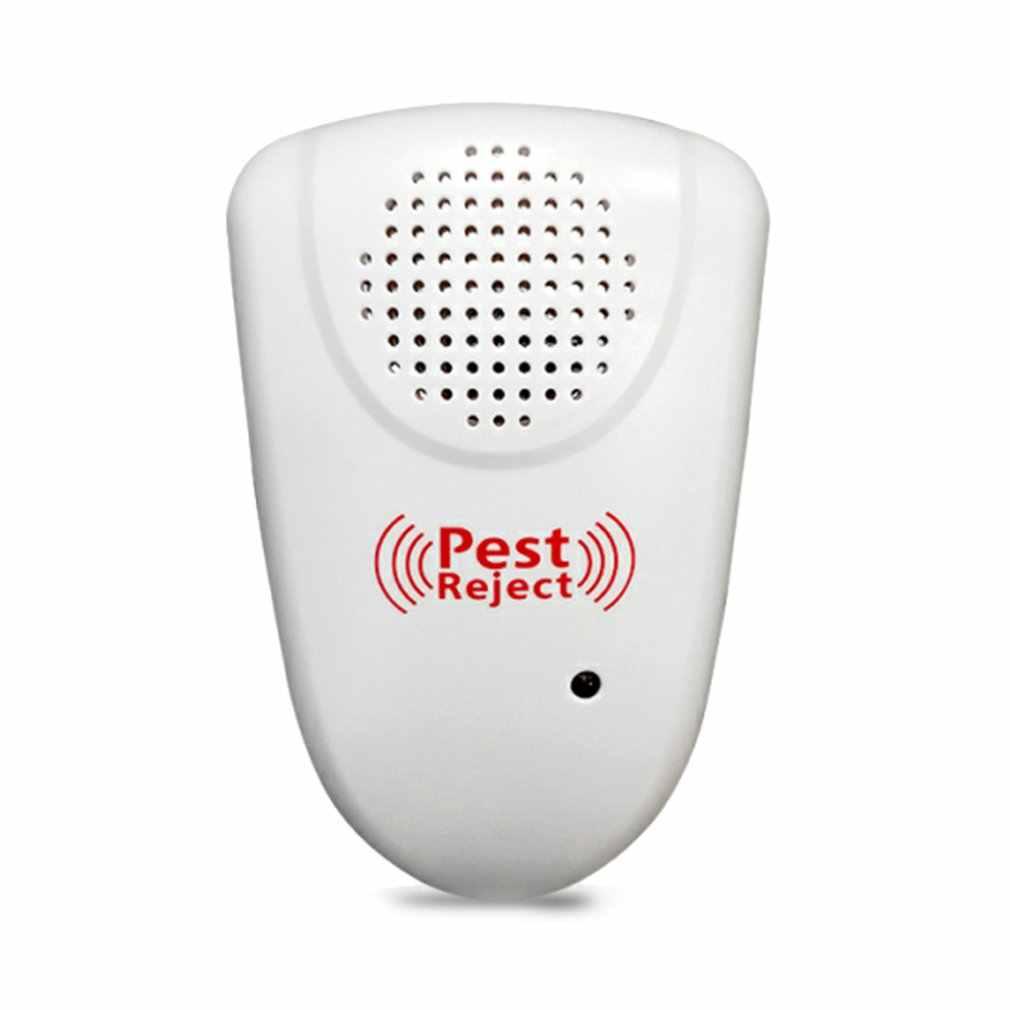 Ultrasonic Pest Repeller Pengusir Nyamuk Tikus Semut Spider Kecoa Infrared Rays Insektisida Perangkat Elektronik 1804