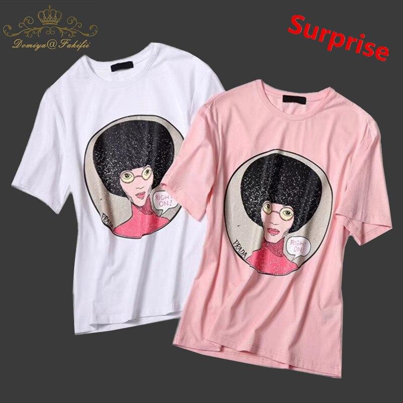 Camiseta de los muchachos ropa del verano del bebé 2018 marca carácter patrón niños camisetas para niños ropa niños niñas manga corta Camisetas