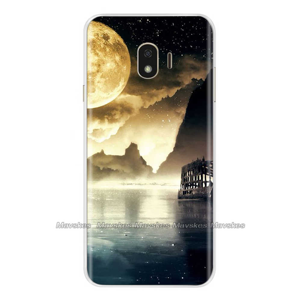 ซิลิโคนนุ่มสำหรับ Samsung Galaxy J4 2018 กรณี TPU ปกหลังสำหรับ J4 Plus 2018 J415F SM-J415F J4Plus J4 โทรศัพท์ shell Coque
