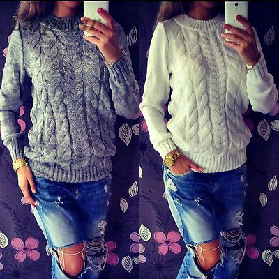 High Quality Fashion Casual Women 39 s Clothing Female Solid Color O Neck Long Sleeved Knitted Sweater Women Soft Pullovers in Pullovers from Women 39 s Clothing