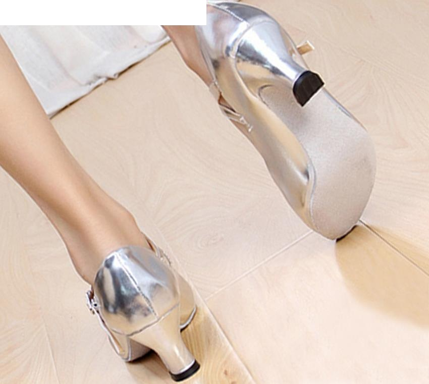 women leather sole latin dance shoes modern ballroom shoes women ladies girls dancing shoes sneakers zapatillas de baile 205f in Dance shoes from Sports Entertainment