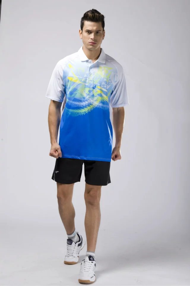 Shirts Sports-Clothing Table-Tennis Ping-Pong Man Men Ball-Tops Running-Tops Adult Male