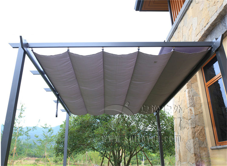 2.8*4 meter deluxe strong practicability outdoor garden gazebo tent patio pavilion carport for bike