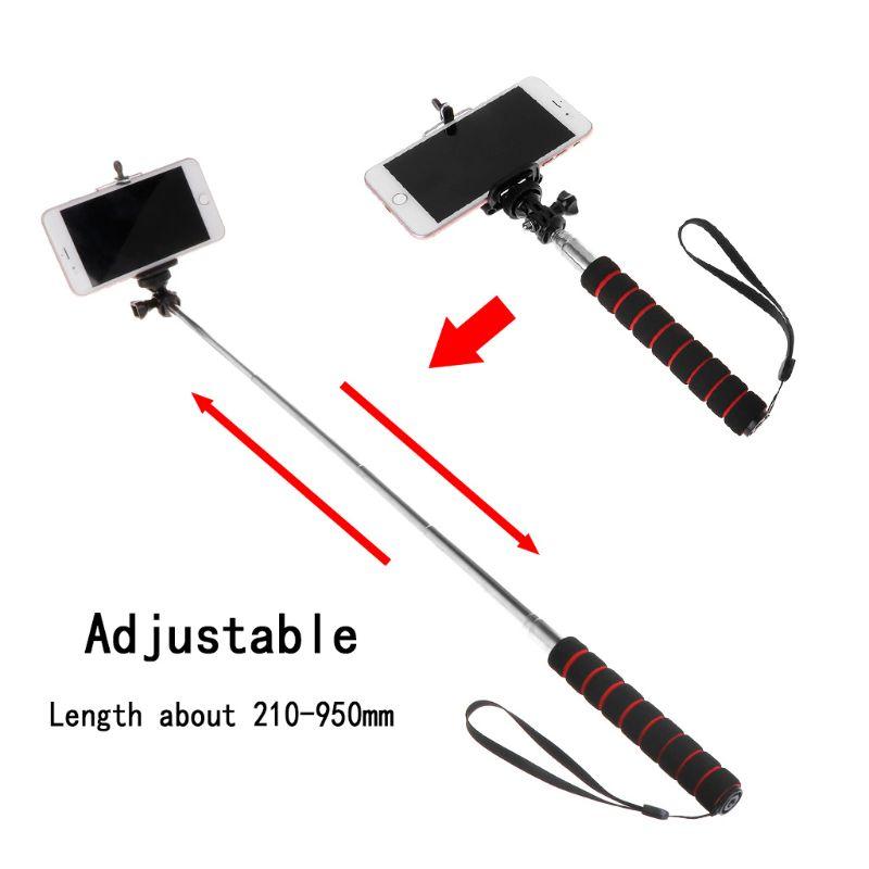 Selfie-stöcke Gutherzig Selfie Stick Handheld Teleskop Kamera Einbeinstativ Tragbare Verstellbare Für Gopro Kamera Smartphone