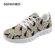 Ladies Mesh Shoes Cartoon