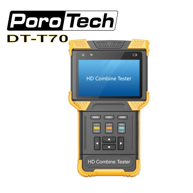 DT-T70 CCTV Tester 1080P IP Analog Camera Testing  4 Inch  IPC(H.264/ H.265/ 4K)+TDR  HD Combine Camera DT-T70 CCTV Tester 1080P IP Analog Camera Testing  4 Inch  IPC(H.264/ H.265/ 4K)+TDR  HD Combine Camera
