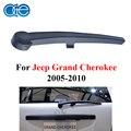 Oge brazo limpiaparabrisas trasero para jeep grand cherokee 2005 2006 2007 2008 2009 2010 parabrisas ventana parabrisas del caucho natural