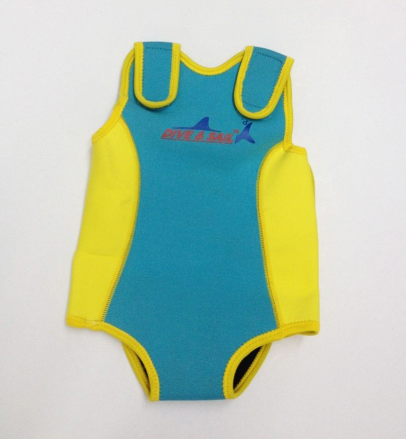 Imported From Abroad Kids Swimwear Neoprene Baby Snug Mini Wetsuit Dropshipping Wholesale Brand Dive & Sail Products Are Sold Without Limitations