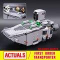 Лепин 05003 Звездные войны The Force Пробуждает Первого Порядка Transporter Игрушки Building Blocks Marvel Совместимость 75103